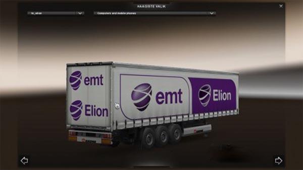 Elion EMT Trailer Skin Estonian