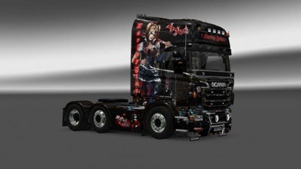Harley Quinn Dark (adjusted Megastore Scania Skirts)