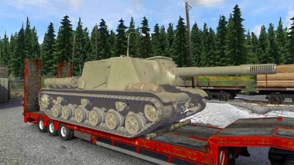 ISU-152 Overweight cargo