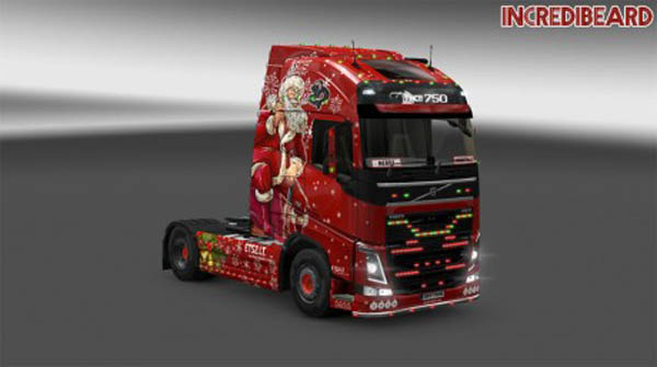 IncrediBeard Volvo FH16 2012 Christmas Skin