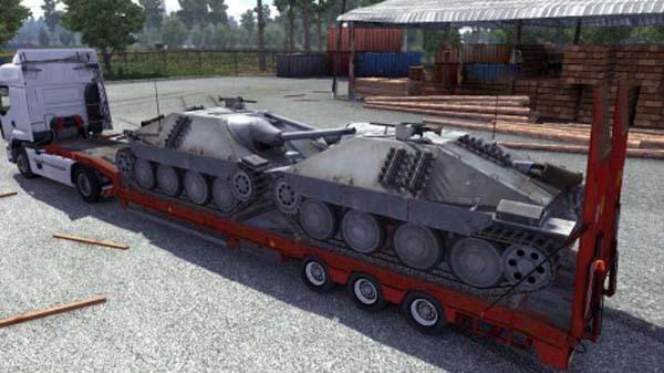 Jagdpanzer 38T Cargo