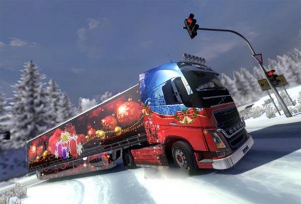 Merry Christmas Skin Volvo 2013 + Aerodynamic