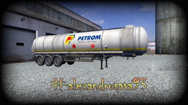 Petrom trailer skin