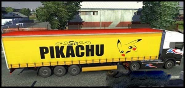 Pikachu Transport Trailer