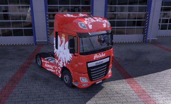Poland Patriot skinpack for trucks