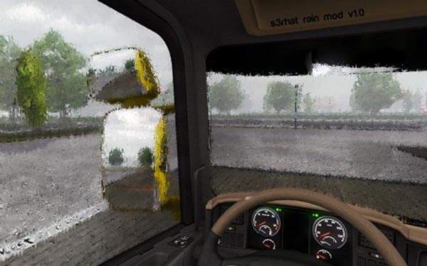 Realistic Rain with Sounds