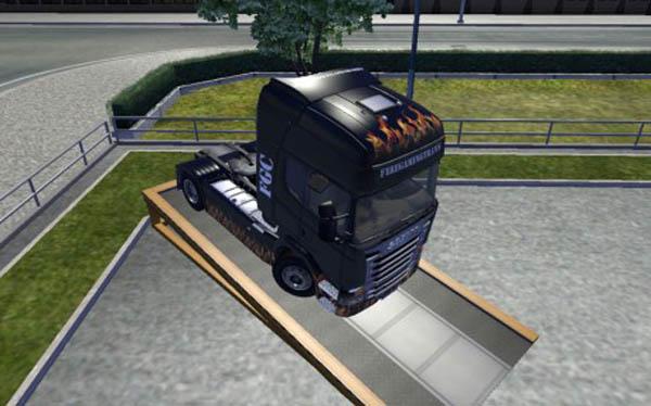 Scania Fire Gaming Transport Skin