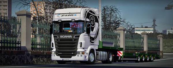 Scania R500 V8 Topline