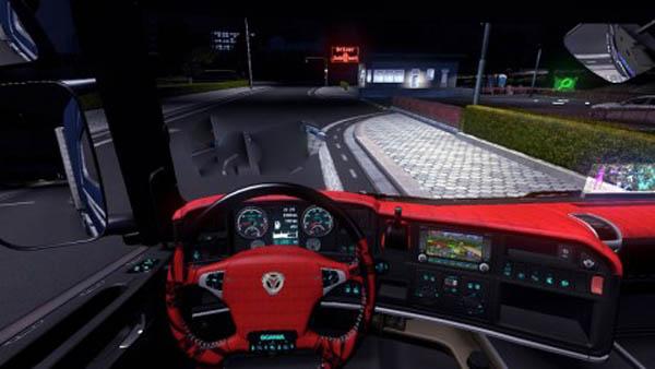 Scania Streamline Interior + Dashboard