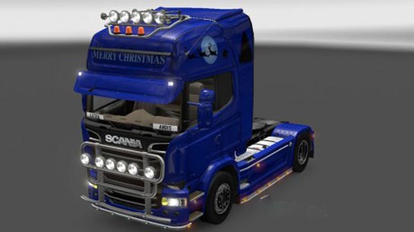 Scania Streamline Merry Christmas Skin