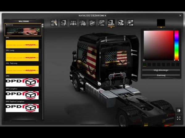 Scania T America skin