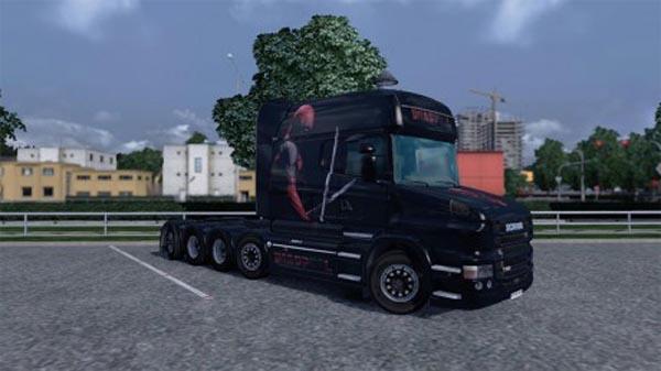 Scania T Deadpool skin