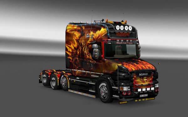 Scania T Longline Dragon Skin