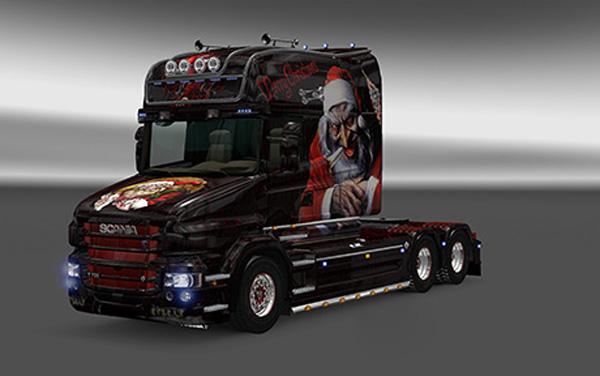 Scania T Merry Christmas Skin