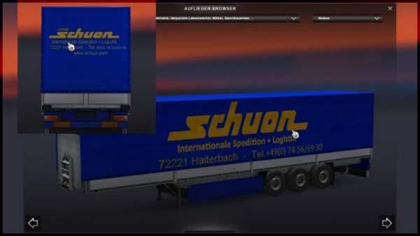 Schuon Trailer