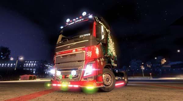 Volvo FH 2012 Christmas Metallic Skin