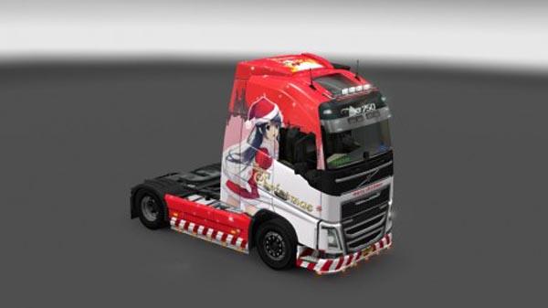 Volvo FH 2012 Mr Christmas Skin