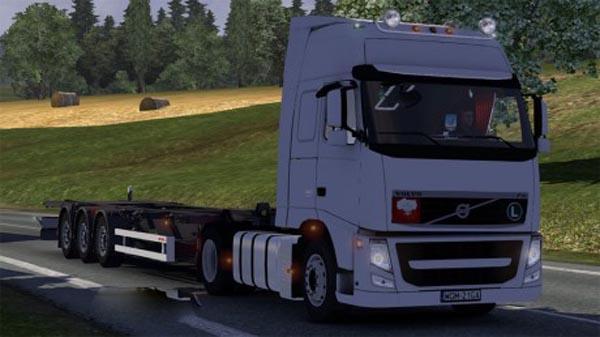 Volvo FH + Samro trailer