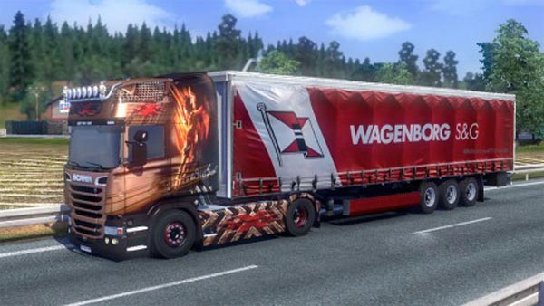 Wagenborg trailer skin