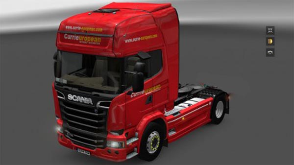 Currieuropean Scania Streamline