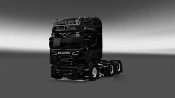 The Black Pearl skin for Scania R