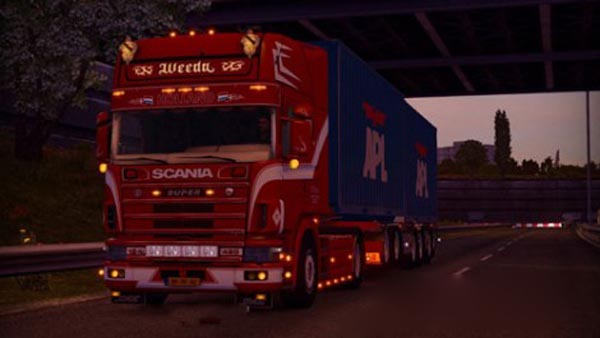 Scania 124L adaptation for 1.20