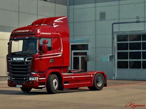 Scania Streamline Reworked