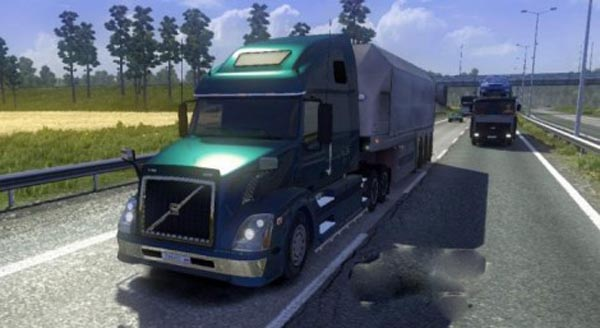 Volvo VNL 670 adapted to 1.20