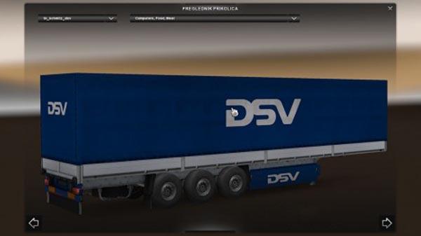 DSV Schmitz Trailer