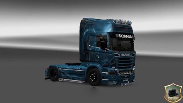 Scania Streamline Wolf Skin