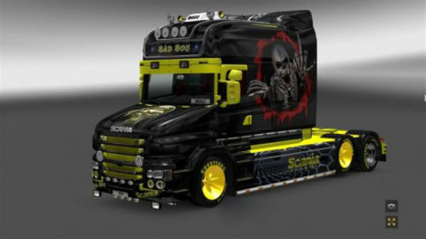 Scania T Bad Boy skin