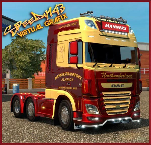 Manners Transport DAF E6