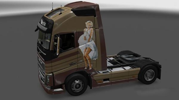 Volvo FH 2013 Pratty Woman Skin