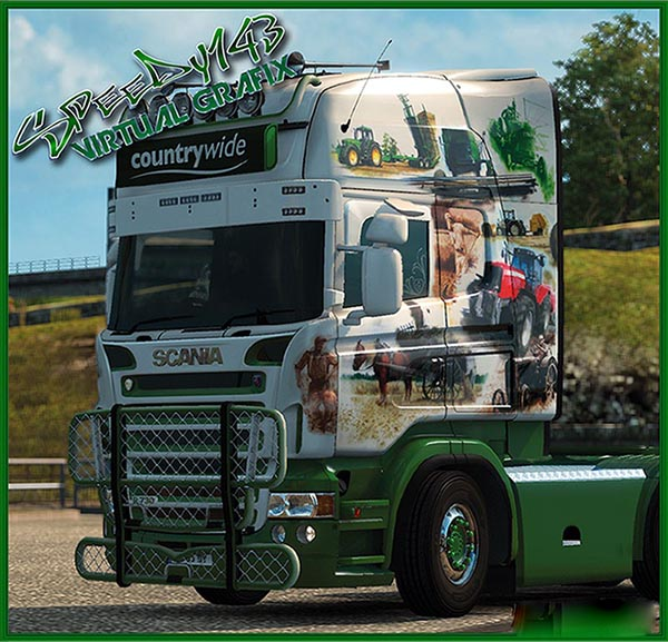 Countrywide skin RJL Scania