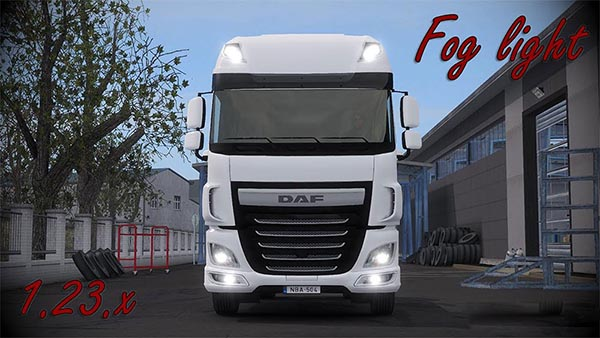 DAF XF 116 Fog light v1.5