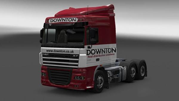 Downton Delivers Truck Skin Pack