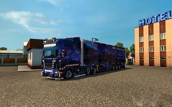 Kuhltrailer NRW Show Scania RJL EXC Topline Combo