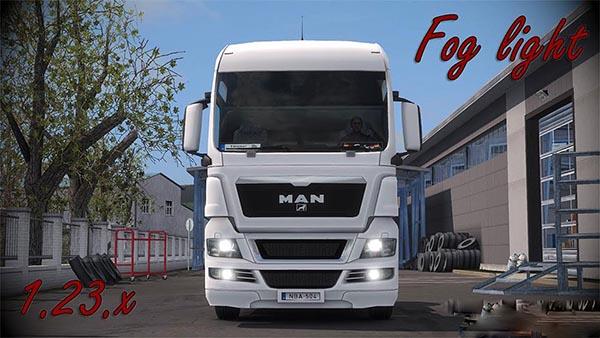MAN TGX Fog light v1.5
