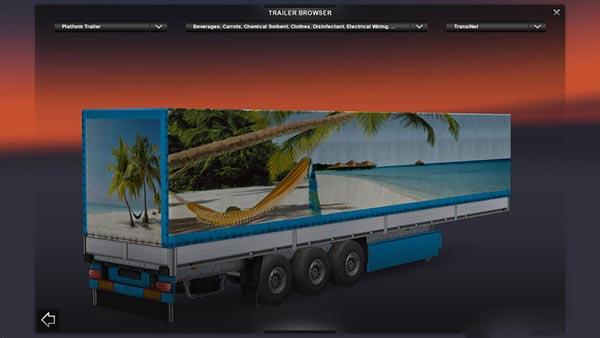 Maldivy Beach Trailer
