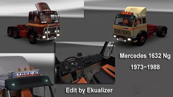 Mercedes 1632 NG