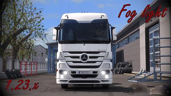 Mercedes Actros MP3 Fog light v1.5