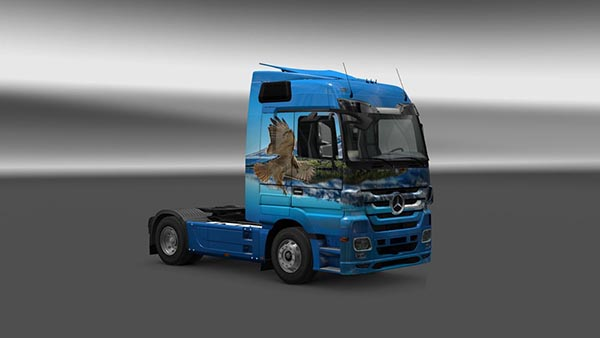 Mercedes Actros MP3 Sokol Skin