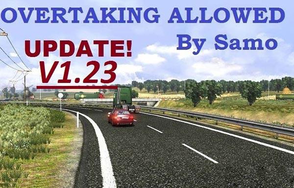 NEW Overtaking ALLOWED V1.23 UPDATE