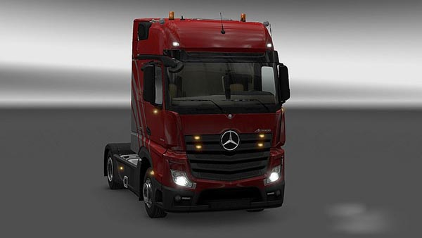 New Actros Plastic Parts and more v 3.4.4