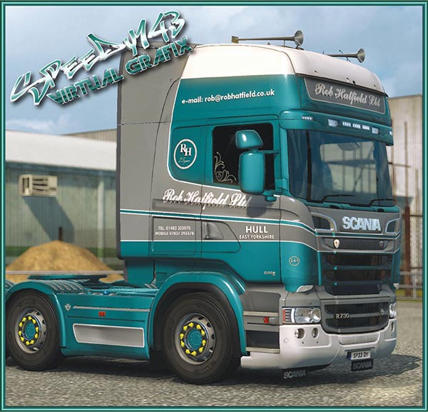 Rob Hatfield skin for RJL Scania
