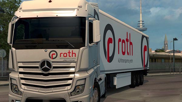 Roth Skin Pack for Mercedes Benz Actros MPIV