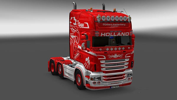 Scania RJL Aaldenberg Skin
