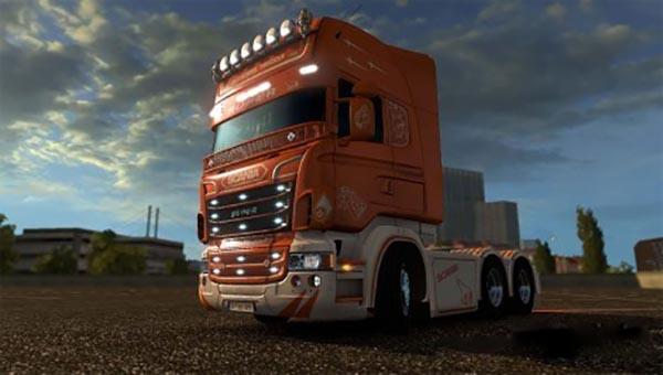 Scania RJL Old School Trucker Skin