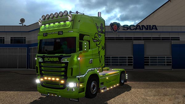 Scania The Green Machine Skin