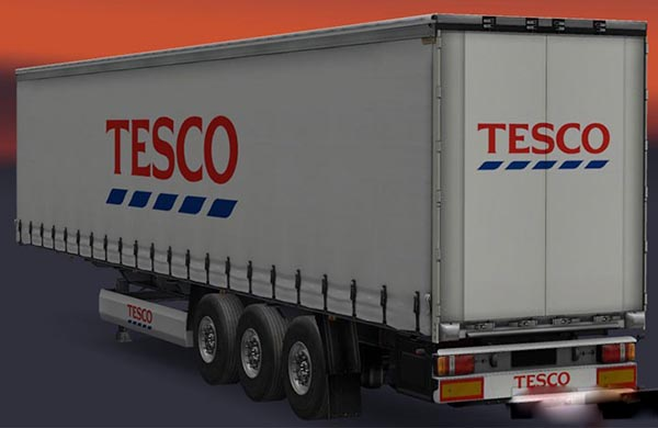 Tesco Trailer